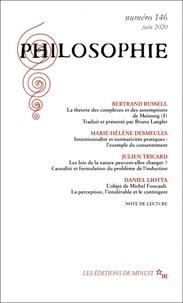 Dominique Pradelle - Philosophie N° 146, juin 2020 : .