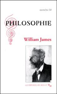 Mathias Girel et Frédéric Worms - Philosophie N° 64, décembre 1999 : William James.