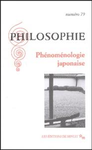 Tetsurô Watsuji et Bernard Stevens - Philosophie N° 79 - 1er septembr : Phénoménologie japonaise.