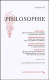 Martin Rueff et Christophe Bouton - Philosophie N° 81 Mars 2004 : .