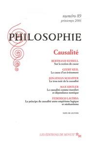 Bertrand Russell et Geert Keil - Philosophie N° 89, Mars 2006 : Causalité.