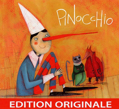Yves Darriet - Pinocchio - CD audio.