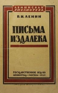 Lénine - Pisma Izdaleka 1925.