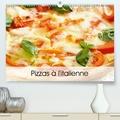 Patrick Bombaert - Pizzas à l'italienne (Calendrier supérieur 2020 DIN A2 horizontal) - Une série de pizzas italiennes appétissantes et colorées (Calendrier mensuel, 14 Pages ).