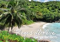 Juergen Feuerer - Plages de rêve Seychelles (Calendrier mural 2020 DIN A3 horizontal) - Les plus belles plages des îles Mahé, Praslin et La Digue (Calendrier mensuel, 14 Pages ).