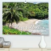 Juergen Feuerer - Plages de rêve Seychelles (Calendrier supérieur 2020 DIN A2 horizontal) - Les plus belles plages des îles Mahé, Praslin et La Digue (Calendrier mensuel, 14 Pages ).