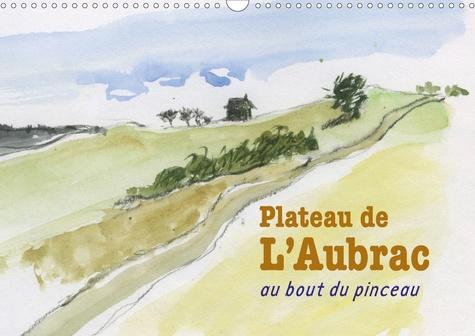 Plateau de l'Aubrac, au bout du pinceau (Calendrier mural 2020 DIN A3 horizontal). Une randonnée sur le plateau de l'Aubrac, au bout du pinceau (Calendrier mensuel, 14 Pages )