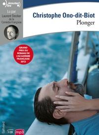 Christophe Ono-dit-Biot - Plonger. 1 CD audio MP3
