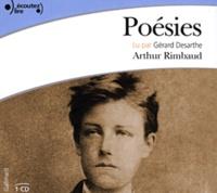 Arthur Rimbaud - Poésies. 1 CD audio