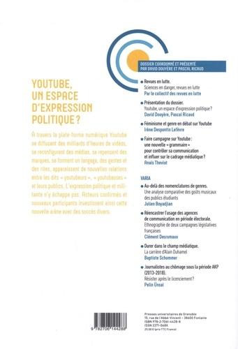 Politiques de communication N° 13, automne 2019 YouTube, un espace d'expression politique ?