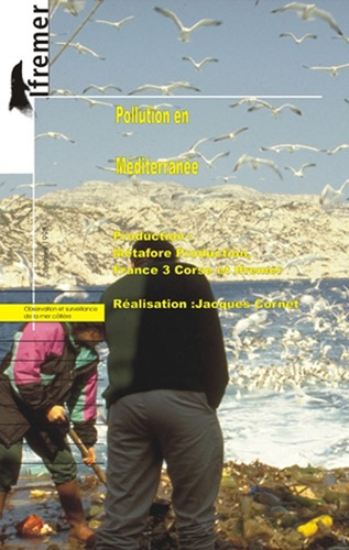 Jacques Cornet - Pollution en Méditerranée. - K7 vidéo.