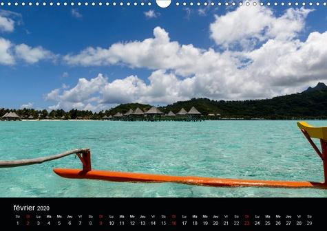 Polynésie française - Magie des îles (Calendrier mural 2020 DIN A3 horizontal). La magie des îles de la société (Calendrier mensuel, 14 Pages )