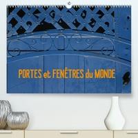 Francis Goussard - PORTES et FENÊTRES du MONDE (Calendrier supérieur 2020 DIN A2 horizontal) - Voyager grâce aux façades de maison photographiées dans différents pays du monde. (Calendrier mensuel, 14 Pages ).