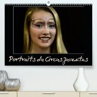 Alain Hanel - CALVENDO Art  : Portraits du Circus Juventas (Premium, hochwertiger DIN A2 Wandkalender 2021, Kunstdruck in Hochglanz) - L'école Circus Juventas est basée à Saint-Paul, dans le Minnesota (Calendrier mensuel, 14 Pages ).