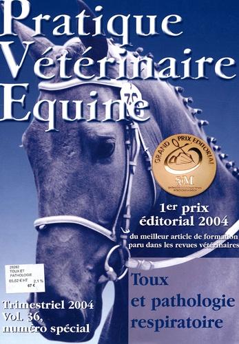 Anne Couroucé-Malblanc - Pratique Vétérinaire Equine N° 36, 2004 : Toux et pathologie respiratoire.