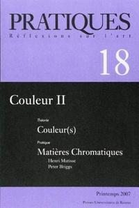 Alex Byrne et David R. Hilbert - Pratiques N° 18, Printemps 200 : Couleurs - Tome 2, Couleur(s) Matières Chromatiques.