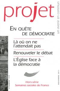 Jean Merckaert - Projet Hors-série Novembre : En quête de démocratie.