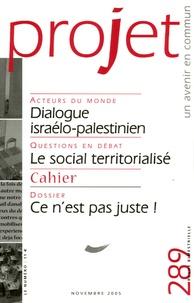 Pierre Martinot-Lagarde et Françoise Terrel-Salmon - Projet N° 11, Novembre 2005 : .
