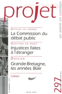 Pierre Martinot-Lagarde et Françoise Terrel-Salmon - Projet N° 297, mars 2007 : .
