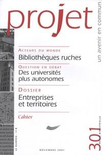Françoise Terrel-Salmon - Projet N° 301, novembre 200 : .