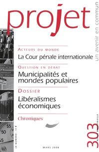 Monique Chemillier-Gendreau et Alain Bertho - Projet N° 303, Mars 2008 : La Cour pénale internationale.