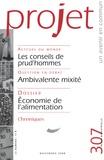 Françoise Terrel-Salmon et Bertrand Cassaigne - Projet N° 307, Novembre 200 : .