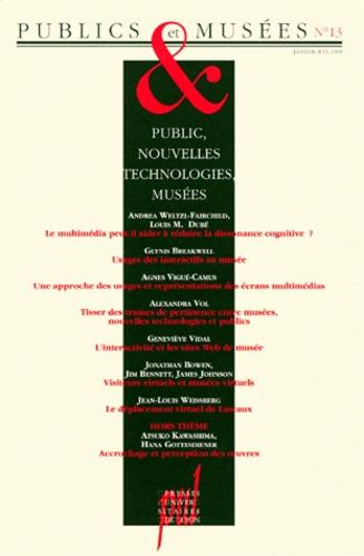 Hana Gottesdiener - Publics et Musées N° 13, janvier-juin  : PUBLIC, NOUVELLES TECHNOLOGIES, MUSEES.
