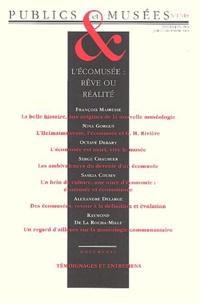 Hana Gottesdiener - Publics et Musées N° 17-18 : L'écomusée : rêve ou réalité.