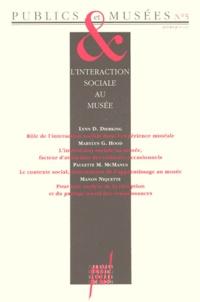 Hana Gottesdiener et Jean Davallon - Publics et Musées N° 5, janvier-juin 1 : L'INTERACTION SOCIALE AU MUSEE.