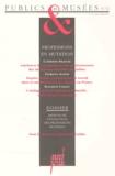 Hana Gottesdiener et Jean Davallon - Publics et Musées N° 6, juillet-décemb : PROFESSIONS ET MUTATIONS.