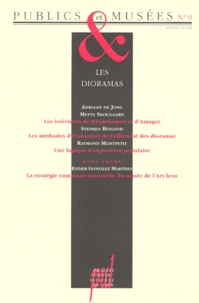 Hana Gottesdiener et Jean Davallon - Publics et Musées N° 9, janvier-juin 1 : LES DIORAMAS.