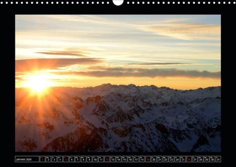 Pyrénéennes (Calendrier mural 2020 DIN A3 horizontal). La chaîne des Pyrénées aux quatre saisons (Calendrier mensuel, 14 Pages )