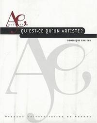 Dominique Chateau - Qu'est-ce qu'un artiste ?.