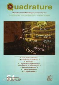 Jean Jacquelin et Bertrand Hauchecorne - Quadrature N° 61, Juillet-Septe : Les anciens et les modernes.