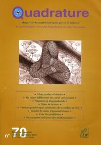 Laurent Bartholdi - Quadrature N° 70, Octobre-Décem : .