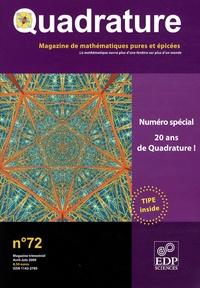 Roger Mansuy - Quadrature N° 72 : Spécial 20ème anniversaire.