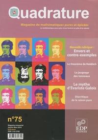 Roger Mansuy - Quadrature N° 75, Janvier-Mars : .