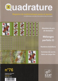 Roger Mansuy - Quadrature N° 76, Avril-Juin 20 : .