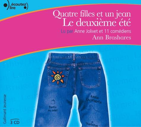 Ann Brashares - Quatre filles et un jean, le deuxième été. 3 CD audio
