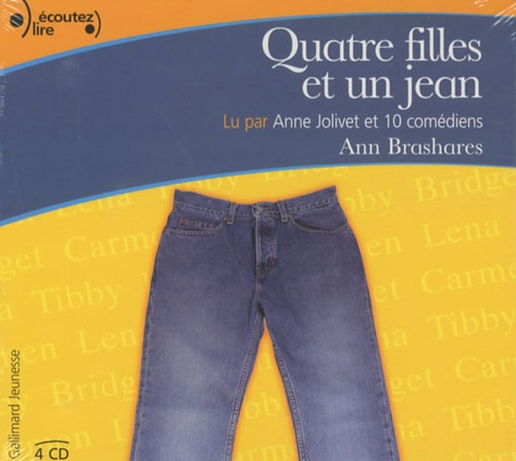 Quatre filles et un jean  avec 4 CD audio