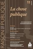Saskia Sassen et Caroline Guibet Lafaye - Raison Publique N° 11 : La chose publique.