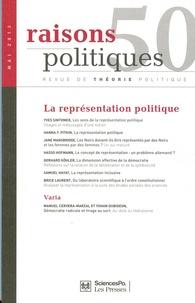 Samuel Hayat et Yves Sintomer - Raisons politiques N° 50, Mai 2013 : La représentation politique.