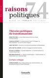 Benjamin Bourcier - Raisons politiques N° 74 : .