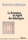 Ana Dias-Chiaruttini et Dalila Moussi - Recherches en Didactiques N° 26, décembre 2018 : La formation au regard des didactiques.