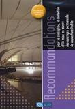 SEBTP - Recommandations pour la conception, la confection et la mise en oeuvre des ouvrages permanents de couverture textile.