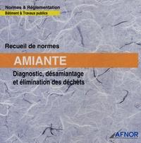 AFNOR - Recueil de normes Amiante - Diagnostic, désamiantage et élimination des déchets.