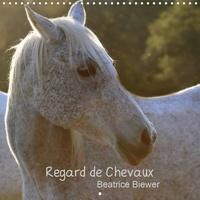 Béatrice Biewer - Regard de Chevaux (Calendrier mural 2020 300 × 300 mm Square) - Toute la douceur dans le regard d'un cheval (Calendrier mensuel, 14 Pages ).