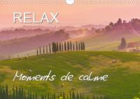 Juergen Feuerer - RELAX - Moments de calme (Calendrier mural 2020 DIN A4 horizontal) - Paysages qui invite au repos (Calendrier mensuel, 14 Pages ).