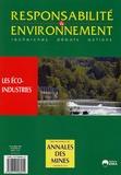 Serge Lepeltier - Responsabilité & environnement N° 36, Octobre 2004 : Les éco-industries.