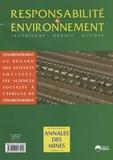 François Valérian et Philippe Saint-Raymond - Responsabilité & environnement N° 48, Octobre 2007 : L'environnement au regard des sciences sociales, les sciences sociales au regard de l'environnement.